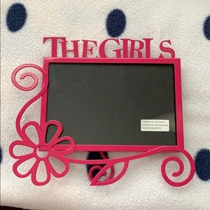 Other - 5/$25 5/$15 *FINAL PRICE* Pink Photo Frame